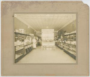 Primary view of object titled '[Photograph of Rembert and Yankee grocery store]'.
