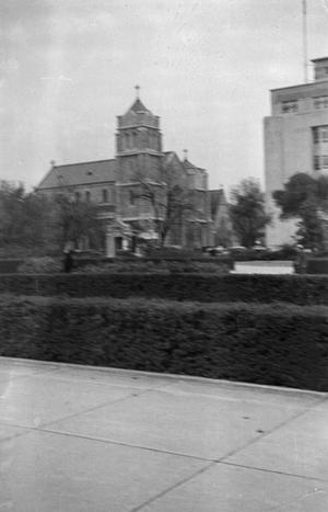 Primary view of [Photograph of St. Andrew's Episcopal Church in Fort Worth]
