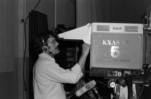 Primary view of [Cameraman around KXAS photograph]