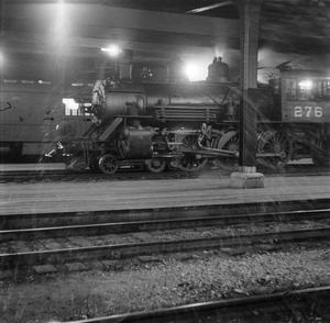 Primary view of [Photograph of a train engine on the tracks]