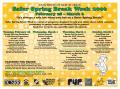 Poster: [Safer Spring Break Week 2006 flier]