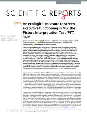 An ecological measure to screen executive functioning in Multiple Sclerosis: the Picture Interpretation Test (PIT) 360°