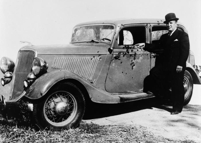 Bonnie und clyde auto