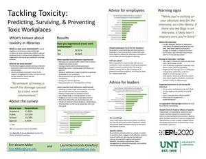 Tackling Toxicity: Predicting, Surviving, & Preventing Toxic Workplaces