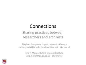 Primary view of Researcher Engagement with Web Archives: Building community, developing tools and codifying practices among scholars in humanities and social sciences