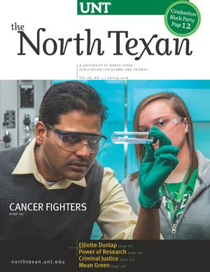 The North Texan, Volume 68, Number 1, Spring 2018