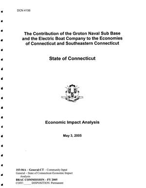 Primary view of object titled '103-06A - AF6 Community Input  State of Connecticut - Economic Impact Analysis'.