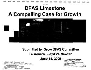 Primary view of object titled 'Community Input from DFAS Limestone to the BRAC Commission'.