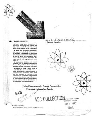 Primary view of object titled 'Reactor Engineering Division Quarterly Report: December 1, 1953 Through March 30, 1954'.