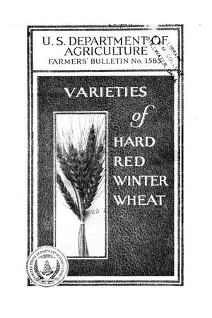 Primary view of object titled 'Varieties of hard red winter wheat.'.