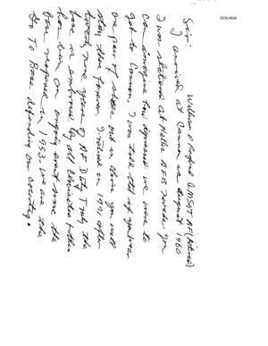 Primary view of object titled 'Letter from a concerned citizen to the BRAC Commission'.
