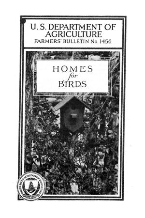 Primary view of object titled 'Homes for birds'.