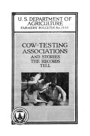 Primary view of object titled 'Cow-testing associations, and stories the records tell.'.