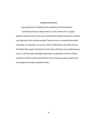 Ethnographic research dissertation
