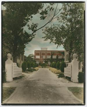 Primary view of object titled '[North Texas State College Administration Building]'.