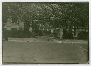 Primary view of object titled '[Administration Building at North Texas State Teachers College]'.