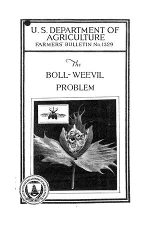 Primary view of object titled 'The Boll-Weevil Problem.'.