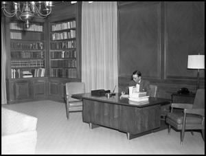 Primary view of object titled '[Administrator in his Office]'.