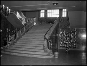 Primary view of object titled '[Administration Building Grand Staircase]'.
