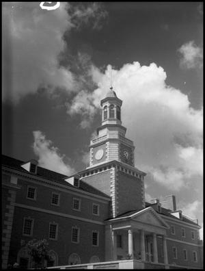 Primary view of object titled '[Administration Building McConnell Tower North Side]'.