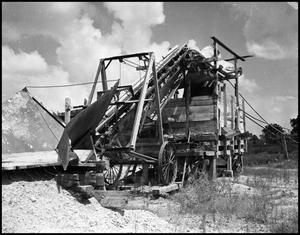 Primary view of object titled '[Grain Elevator in Denton Area #3, 1942]'.
