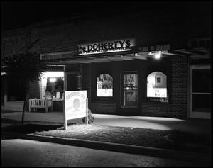 Primary view of object titled '[The Dohertys Photography Studio and Store in Denton]'.
