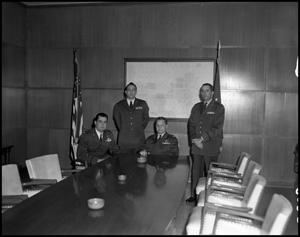 Primary view of object titled '[AFROTC Members in 1963]'.