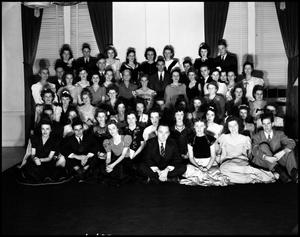 Primary view of object titled '[Alpha Chi Honor Society Formal Evening, 1942]'.