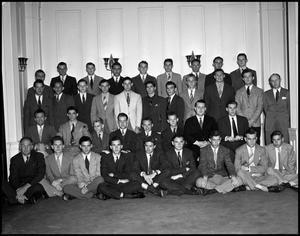 Primary view of object titled '[Alpha Phi Omega Group Photo]'.