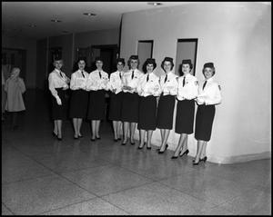 Primary view of object titled '[Angel Flight #2 at Kiwanis Club Minstrel, 1961]'.