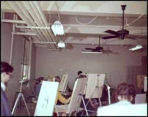Primary view of object titled '[Painting Class in 1963]'.
