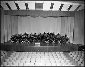 Primary view of object titled '[Concert Band - Group Photograph #1]'.