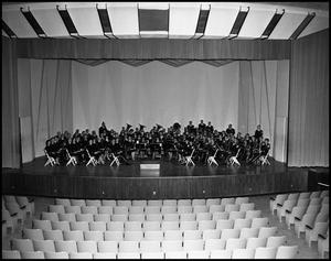 Primary view of object titled '[Concert Band - Group Photograph #3]'.