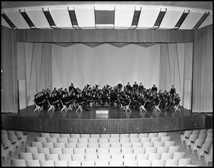 Primary view of object titled '[Concert Band - Group Photograph #4]'.