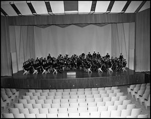 Primary view of object titled '[Band - Concert - Military Band - Group Picture]'.