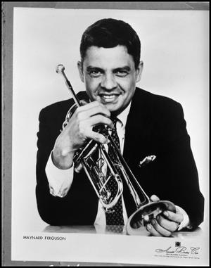 Primary view of object titled '[Maynard Ferguson]'.