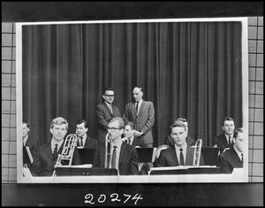 Primary view of object titled '[Band - Lab - Jazz - In Washington #3]'.
