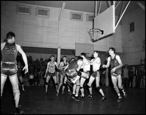 Primary view of object titled '[Basketball - Men - Game #2 - 1942]'.