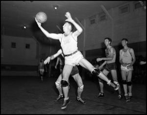 Primary view of object titled '[Basketball - Men - Game #8 - 1942]'.