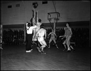 Primary view of object titled '[Basketball - Men - Game #11 - 1942]'.