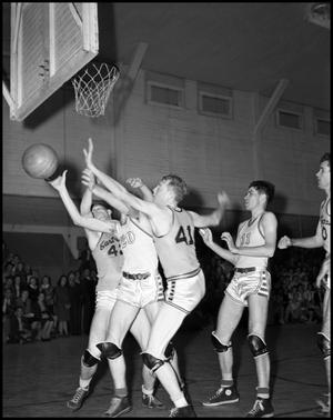Primary view of object titled '[Basketball - Men - Game #12 - 1942]'.