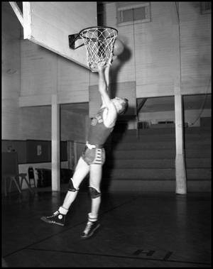 Primary view of object titled '[Basketball - Individual - 1940s - Number 10 (#1)]'.