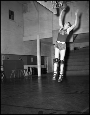 Primary view of object titled '[Basketball - Individual - 1940s - Number 10 (#2)]'.