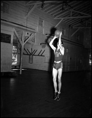 Primary view of object titled '[Basketball - Individual - 1940s - Number 13]'.
