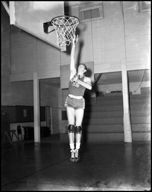 Primary view of object titled '[Basketball - Individual - 1940s - Number 15]'.