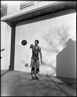 Primary view of object titled '[Basketball - Individual - 1940s - Number 30 (#2)]'.