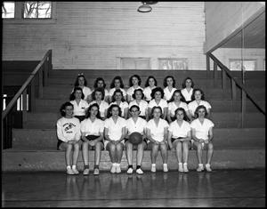 Primary view of object titled '[Women's Basketball Group Photo, 1942]'.