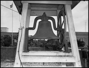 Primary view of object titled '[Bell on top of Power Plant #1 - 1951]'.