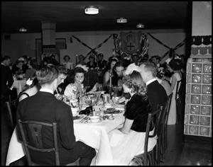 Primary view of object titled '[Beta Alpha Psi - Activities - Formal Dinner - 1942]'.
