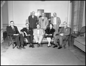 Primary view of object titled '[Board of Regents #1 - 1954]'.